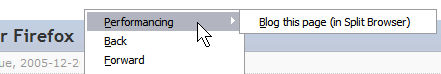 Performancing Turning It On With Right Click Menu