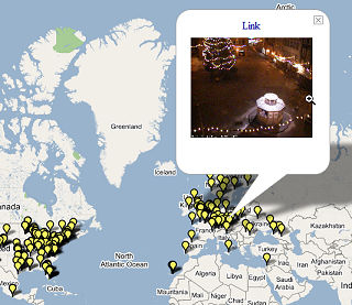 Google Maps Web Cams