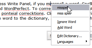 Spellbound Firefox Spell Check Extension