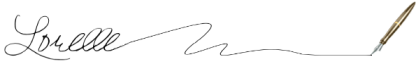 Original Signature for Lorelle on WordPress