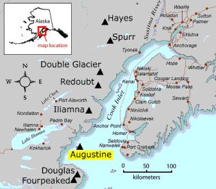 Alaska Volcano Observatory - Augustine Volcano Watch