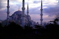 The Blue Mosque, Istanbul, Turkey, photograph copyright Brent VanFossen