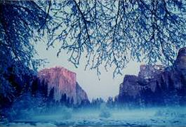 Yosemite National Park, winter, photograph copyright Brent VanFossen