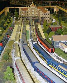 Mobile Miniature Train Collectors Guild, Mobile, Alabama, Photograph copyright Lorelle VanFossen