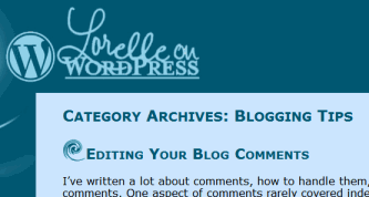 Example of the wp-title template tag which shows the title of the page you are viewing automatically