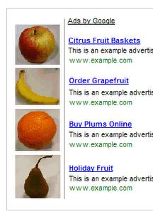 Images stopped near Google Adsense Ads