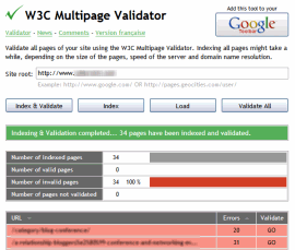 Multiple Page Validator