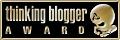 Thinking Blogger Award - Gold