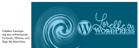 Example of saved version of Lorelle on WordPress logo - copyright Lorelle VanFossen not for use without permission