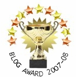 Rose DesRochers - Window Award as a great contribution to the blogging community