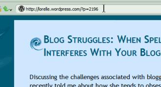 Example of WordPress Post ID link