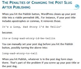 Copyright violation of a translation of this article, copyright Lorelle VanFossen