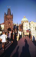 The main square in Prague, Photograph copyright Lorelle and Brent VanFossen