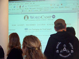 WordCamp Hamburg - audience and slides