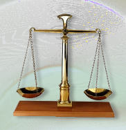 justice scales graphic