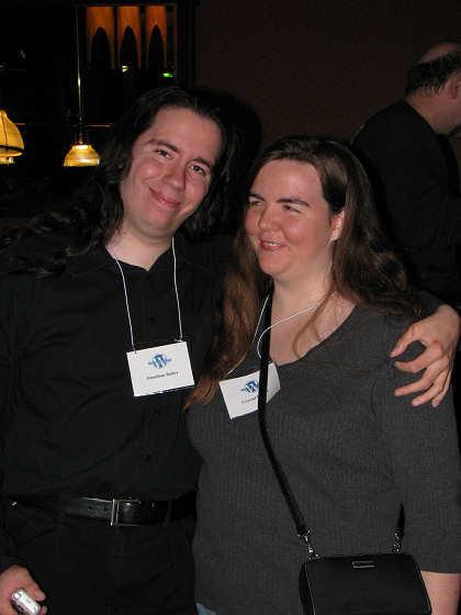 Jonathan and Crystal Bailey at WordCamp Dallas