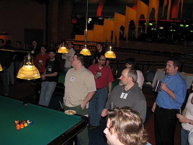 WordCamp Dallas pre-party fun