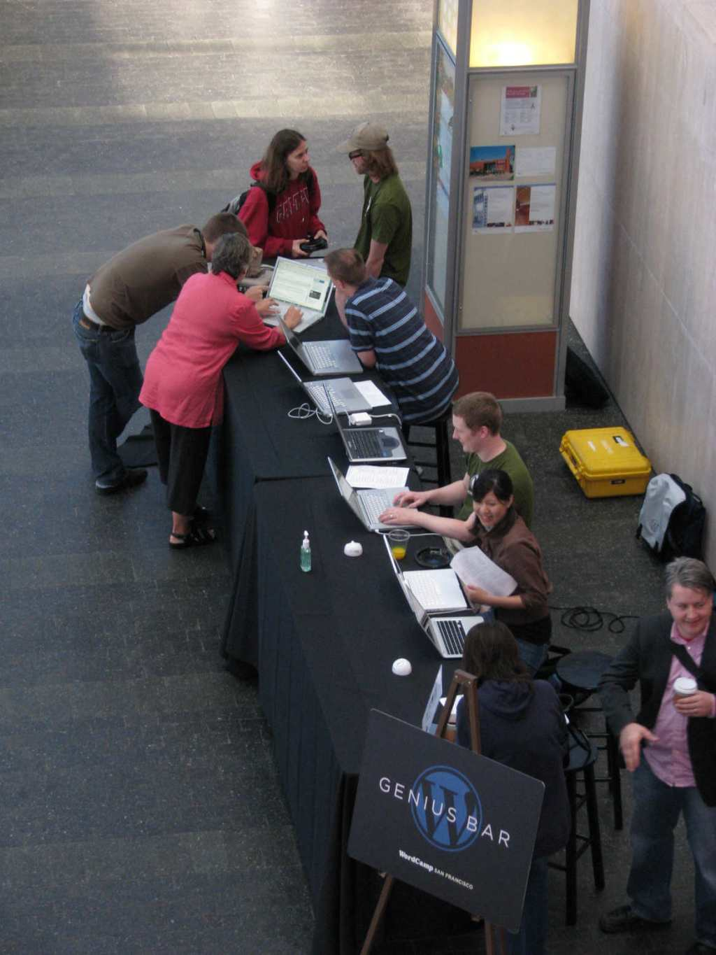 The WordPress Genius Bar at WordCamp San Francisco