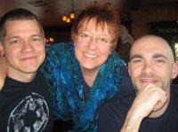 Mark Jaquith, Lorelle VanFossen and Aaron Brazell at WordCamp San Francisco