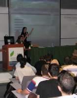 Presenting a program at WordCamp Israel 2007