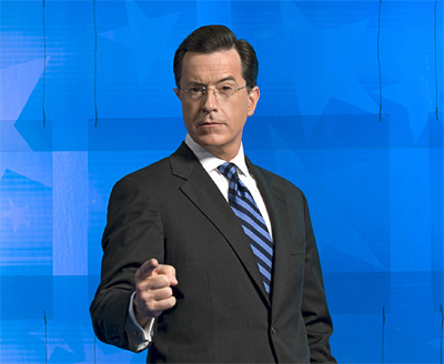 Stephen Colbert of the Colbert Report (used with permission)