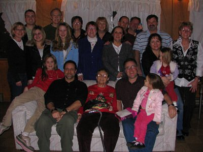 Five Generations of the DesRochers Family 2007