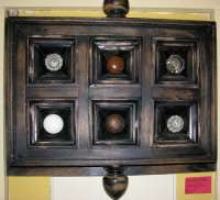 Door knobs in door panel frame by Duke DesRochers