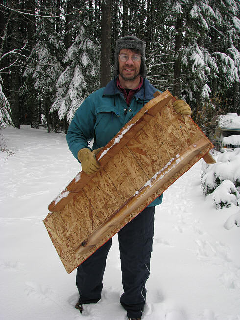 How To Make A Wooden Snow Sledge