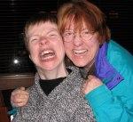 Glenda Watson Hyatt and Lorelle VanFossen 2009 Vancouver, BC