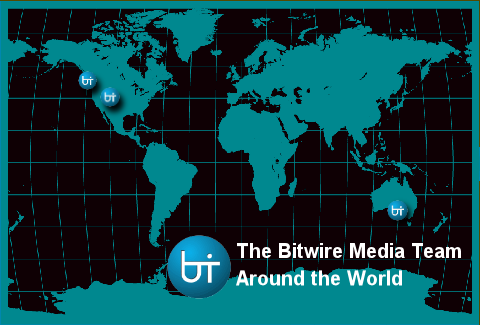 Bitwire Media Team Map