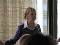 Liz Strauss - Sunday, SOBCon 2010 by Lorelle VanFossen
