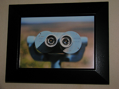 Matt Mullenweg's photograph of a safari viewing station binoculars - copyright Matt Mullenweg
