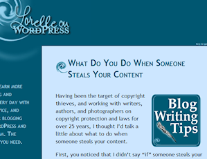 Article introducing the first use of the term content theft in dealing with online plagiarism