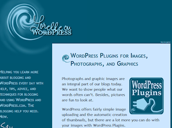 Article on WordPress Plugin for images and video