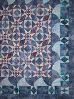 quilt by Lorelle VanFossen - storm in Israel