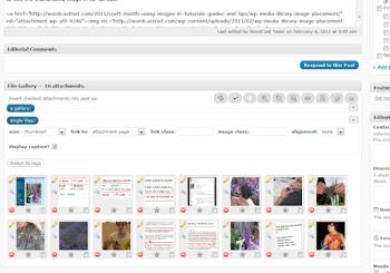 File Gallery WordPress Plugin for image handling and publishing