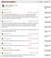 author page - gawker social media status