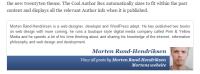 author bio - cool author wordpress plugin