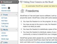 wordpress 3_2 freedoms panel