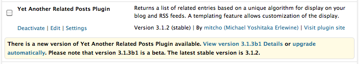 Plugin Beta Tester