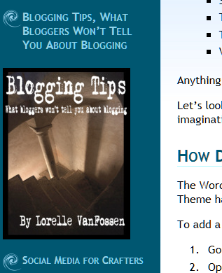 Example of linking to an image in a text widget