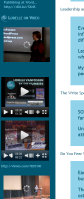 Example of putting videos in WordPress Text Widget