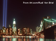 art com rudi von briel photograph of new york after twin towers