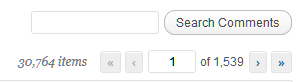 Number of comments and comment pages in WordPress