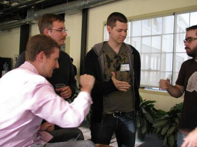 Matt Mullenweg, Mark Jaquith, Andy Skelton at WordCamp San Francisco, 2008