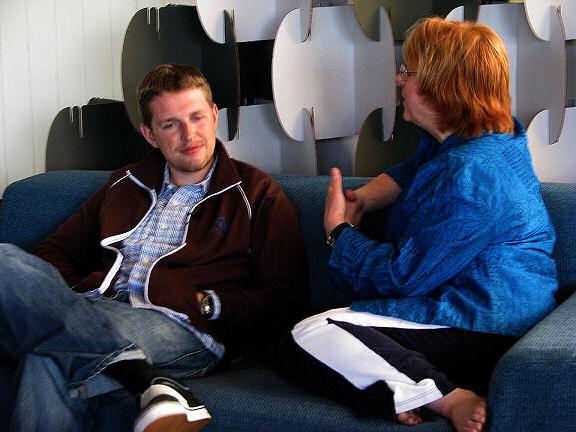 Lorelle interviews Matt Mullenweg at WordCamp San Francisco 2009