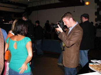 Matt Mullenweg photographer at work