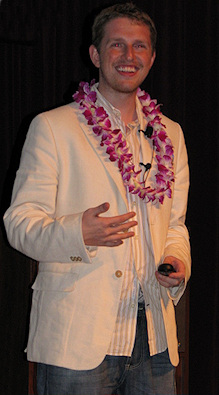 Matt Mullenweg in Hawaii