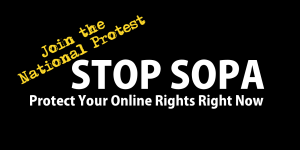 Stop SOPA Protest Nationally