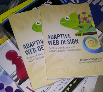 adaptive web design book by aaron gustafson